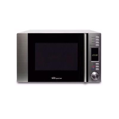 Microondas Bgh Quick Chef 30 Litros Conveccion Grill Inox